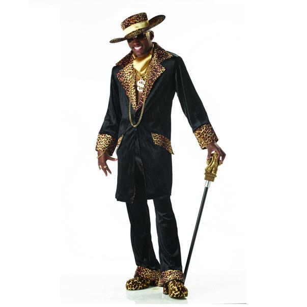 Leopard Adult Super Mac Daddy Costume
